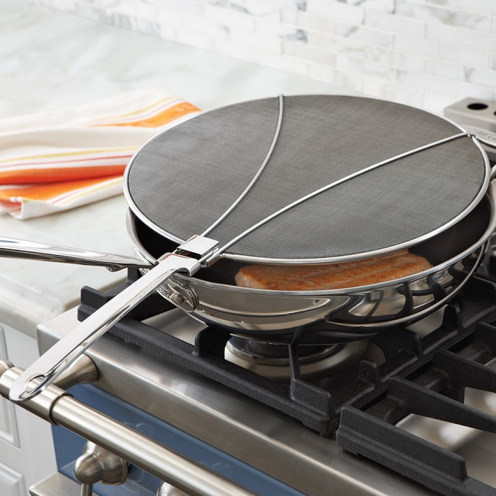 Ditch oil splatters on your stove top