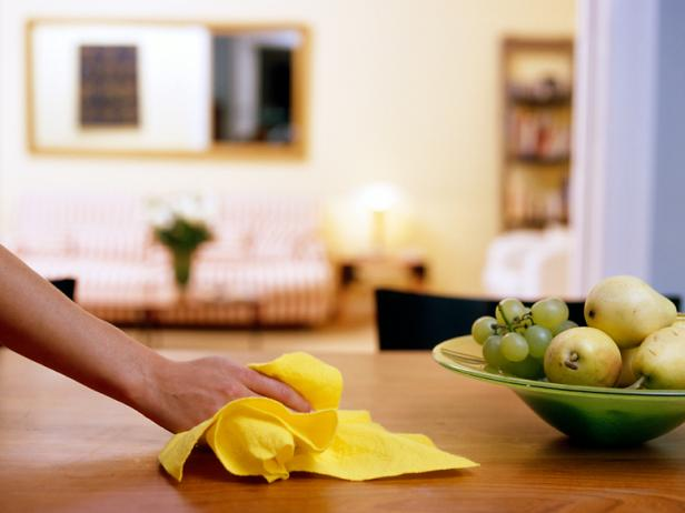 Use dryer sheets to dust your home