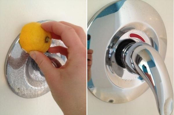 Shine Up All Of Your Metal Faucets With Lemon