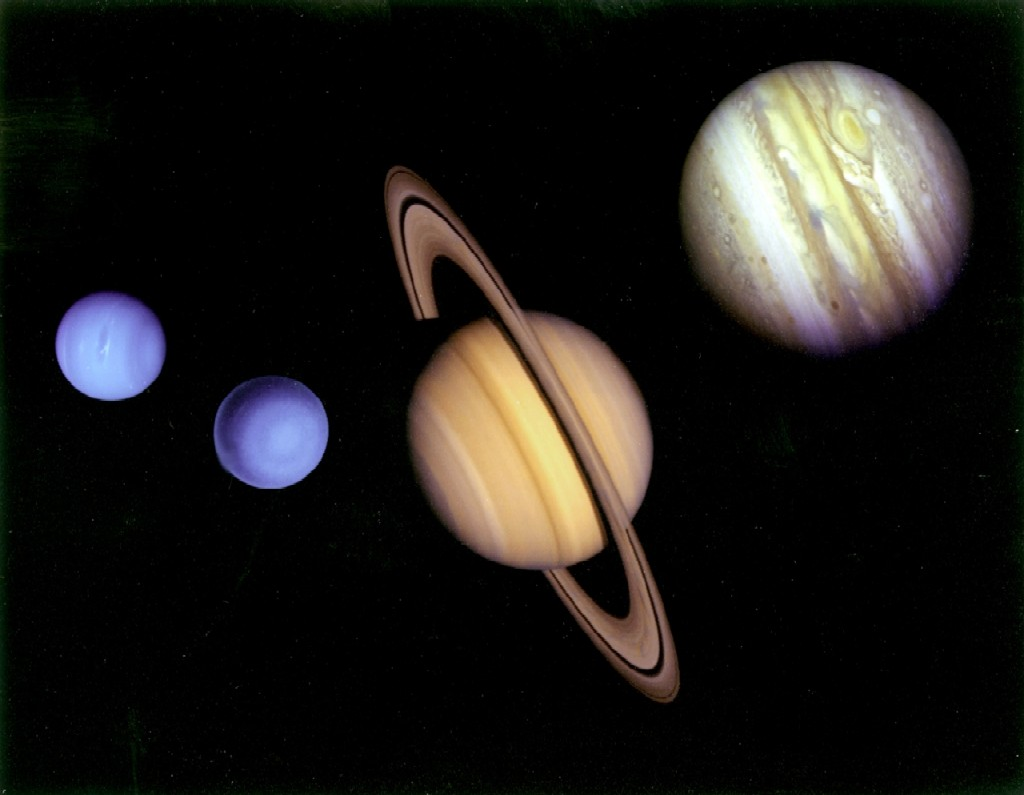 Saturn and jupiter can rain diamonds