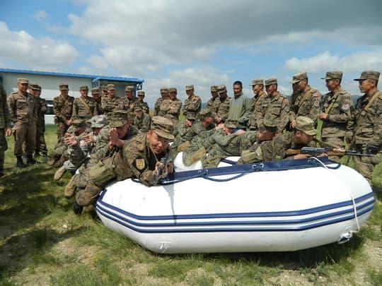 The Mongolian Navy