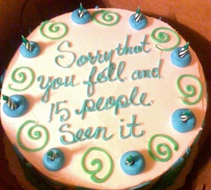 Prime Hilarious Cake Messages That Are Winning As Theyre Failing Funny Birthday Cards Online Fluifree Goldxyz