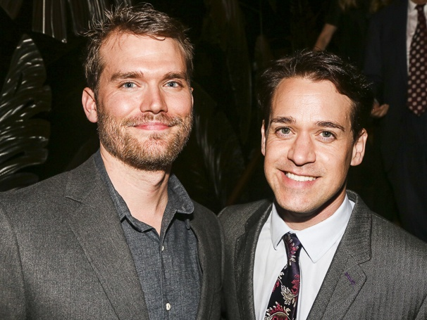 T. R. Knight And Patrick Leahy