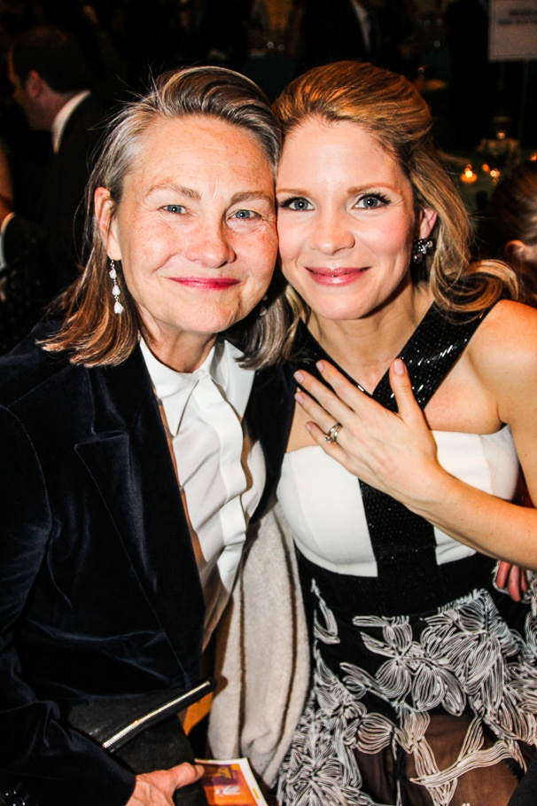 Cherry Jones And Sophie Huber