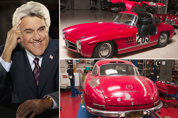 Jay Leno – 1955 Mercedes 300SL Gullwing Coupe Estimated 1.8 Million