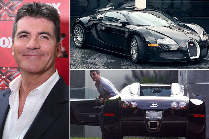 Simon Cowell – Bugatti Veyron Estimated 1.7 Million