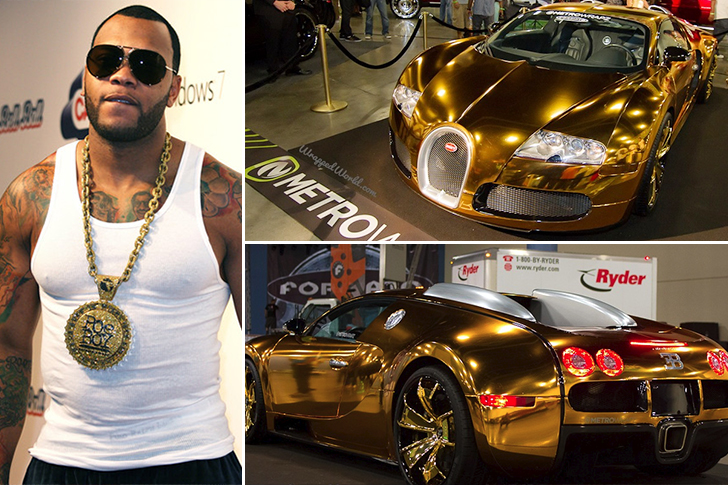 Flo Rida – Bugatti Veyron Estimated 2.7 Million