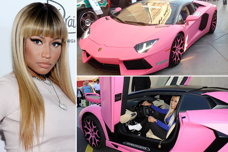 Nicki Minaj – Lamborghini Aventador Estimated 400K