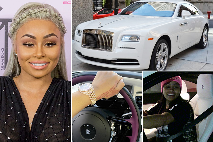 Blac Chyna – Rolls Royce Wraith Estimated 400K