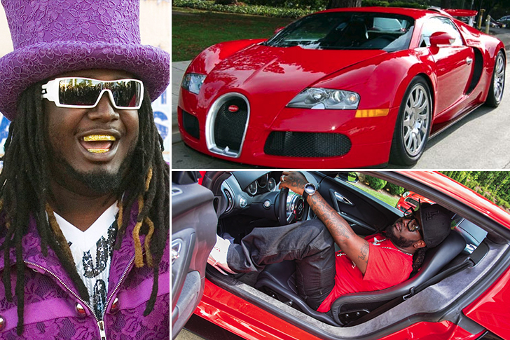 T Pain – Bugatti Veyron Estimated 2.5 Million