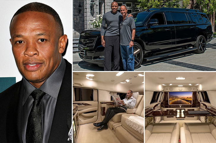 Dr. Dre – Cadillac Escalade ESV Estimated 400K