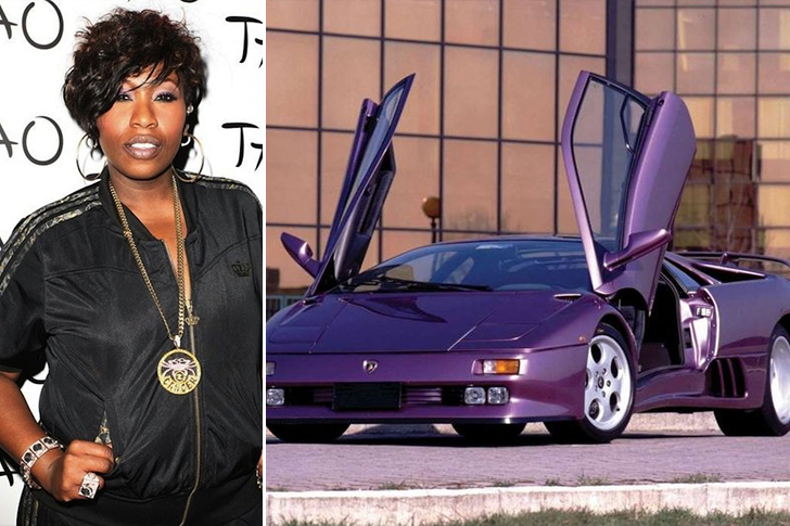 Missy Elliott – Lamborghini Diablo 3 Estimated 300K