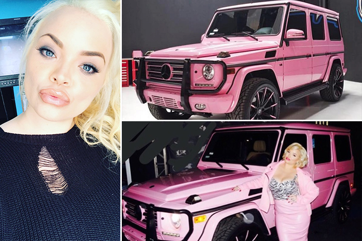 Trisha Paytas – Mercedes Benz G Class Estimated 140K