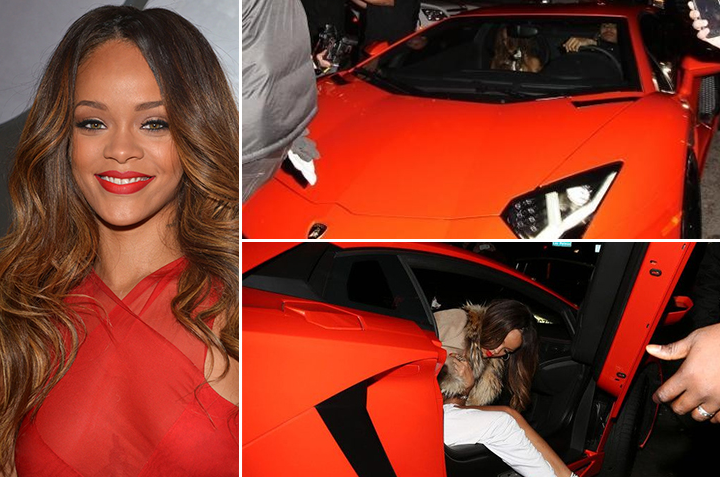 Rihanna – Lamborghini Aventador Estimated 750K