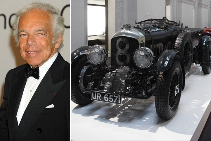 Ralph Lauren – Vintage Bentley Blower Estimated 5 Million