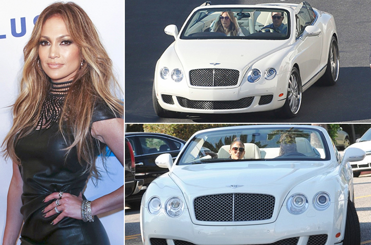 Jennifer Lopez – Bentley Continental GTC Estimated 250K