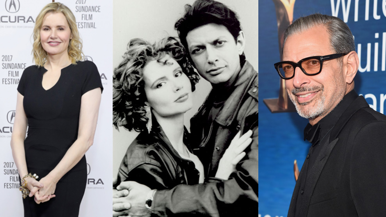 Jeff Goldblum And Geena Davis