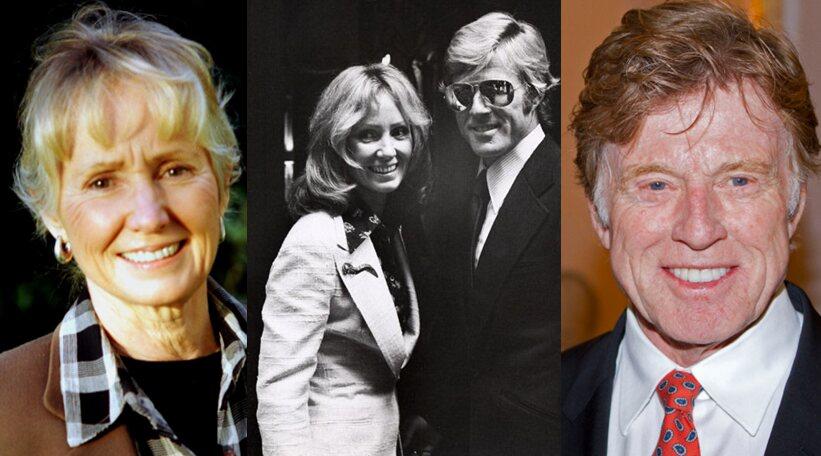 Robert Redford And Lola Van Wagenen