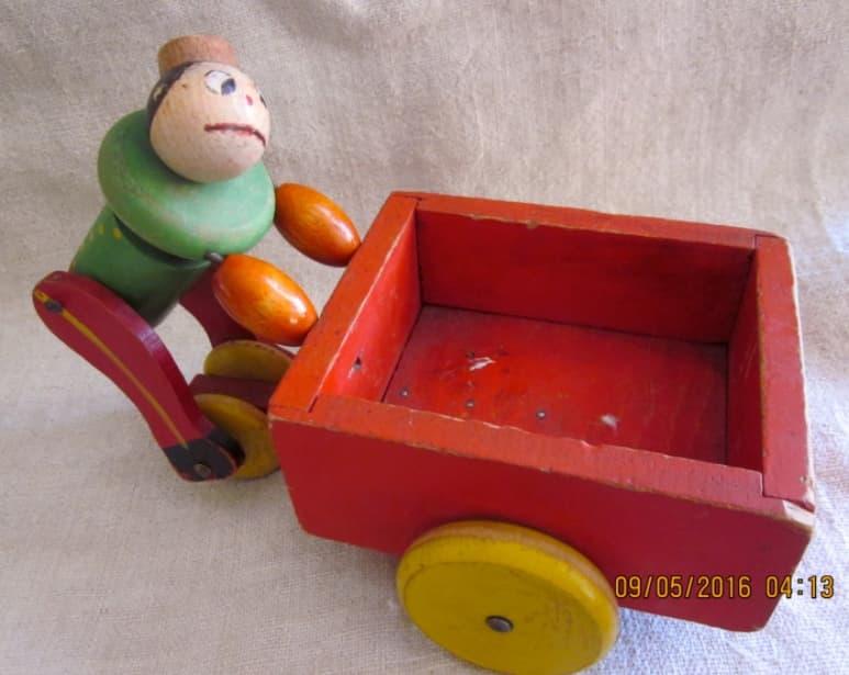 Fisher Price Push Cart Pete