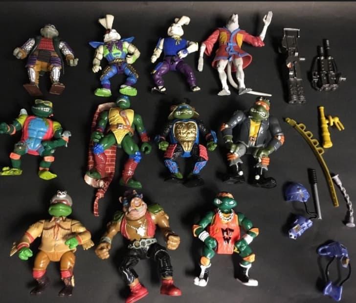 Teenage Mutant Ninja Turtles 1980s Actions Figures