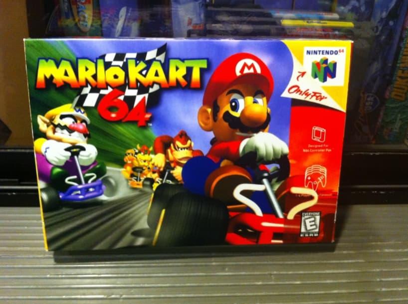 Mario Cart 64