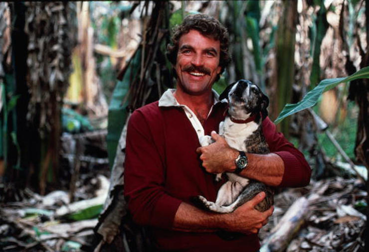 Tom Selleck And Best Friend