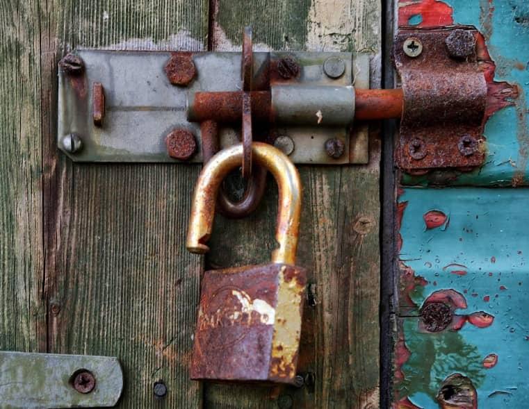 Opening Rusty Locks