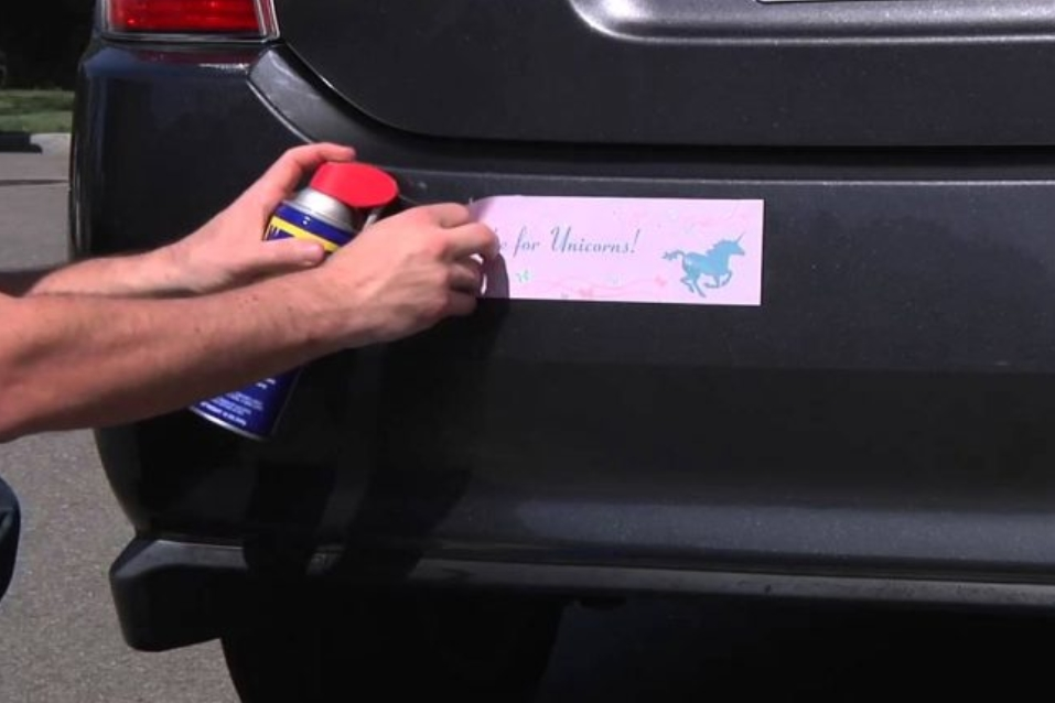 Removing Stickers