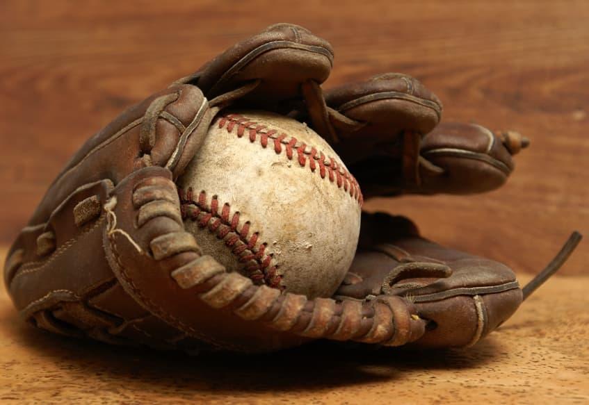 Breaking In Baseball Glove