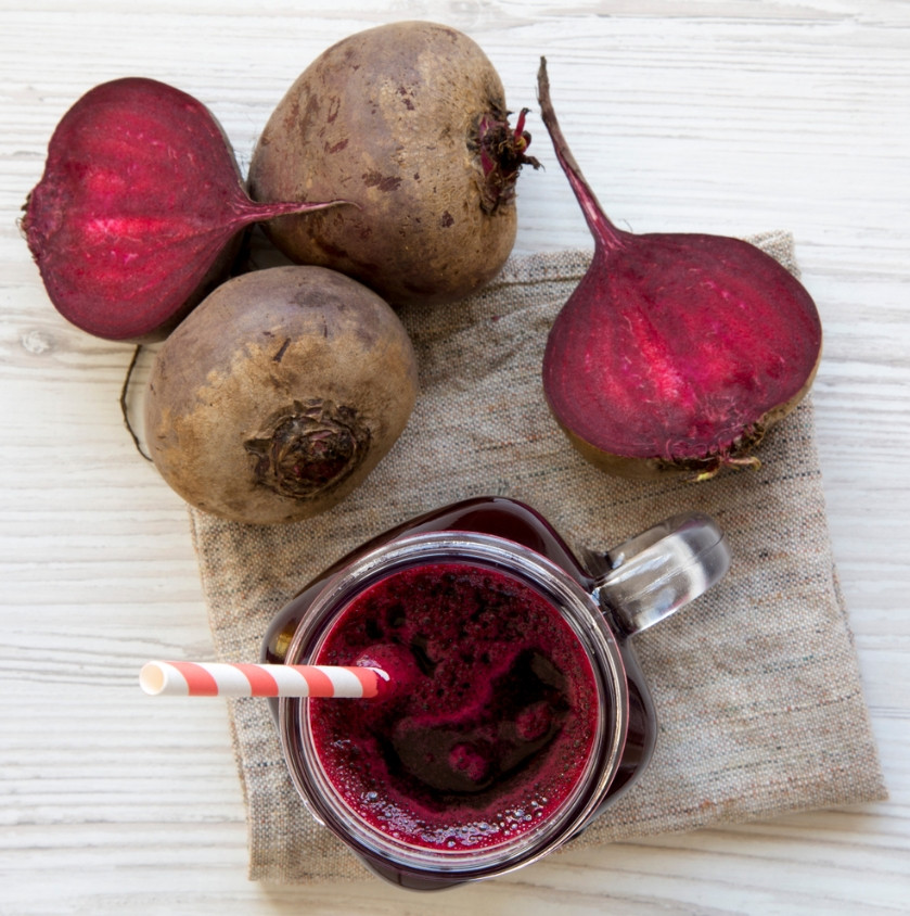 Berry Beet Ginger Smoothie2
