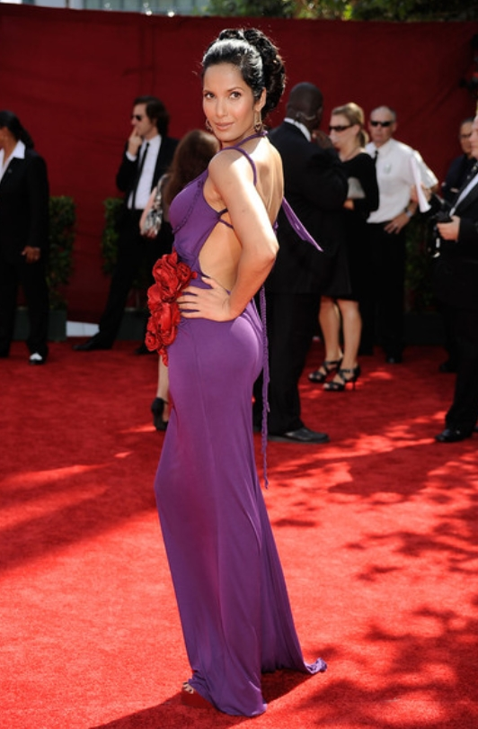 Daring Dresses From The Emmy Red Carpets Throughout The