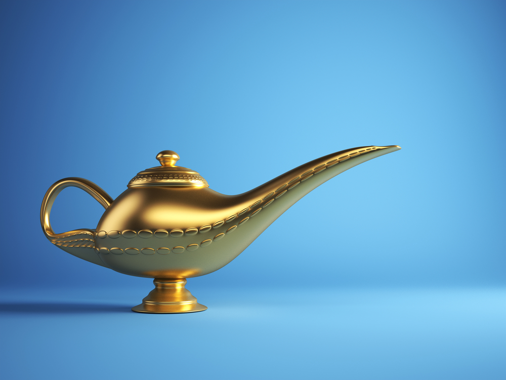 Polishing Gold And Brass Lamps