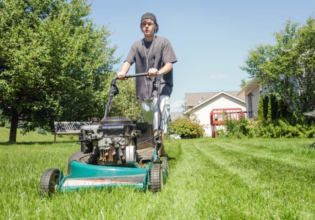 Maintaining Lawnmower Blades